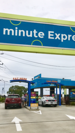 Car Wash Features Rapid Wash Express